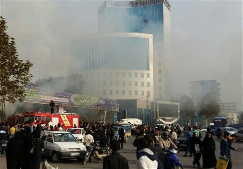 جزئیات جدید آتشسوزی واحد تجاری کفش ملی ساری/ تخریب ۱۰۰ درصدی فروشگاه کفش ملی