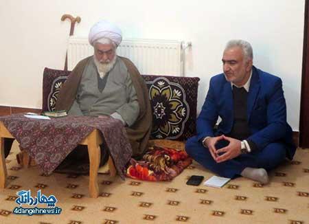 نشست ماهانه مدیران مدارس شهر کیاسر با حجت الاسلام تیموری