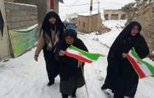 گزارش تصویری راهپیمایی ۲۲ بهمن روستای قلعه سر