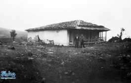 عکس بارگاه امامزاده علی روستای لنگر - ۱۳۴۵