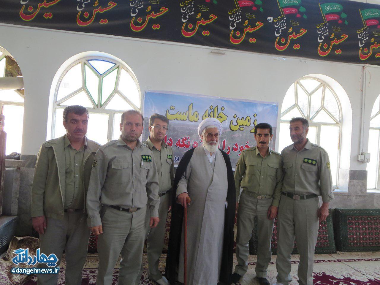 گزارش تصویری نمازجمعه چهاردانگه - 1 اردیبهشت 1396