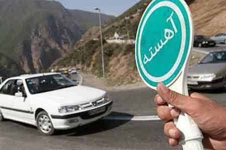 احتمال محدودیت یکطرفه جاده ساری – کیاسر تا ۲۶ فروردین