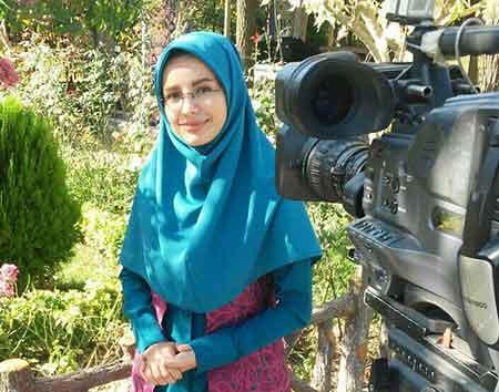 گفتگو صمیمی با زهرا جوانمرد مجری جوان و چهاردانگه ای شبکه تلویزیونی تبرستان