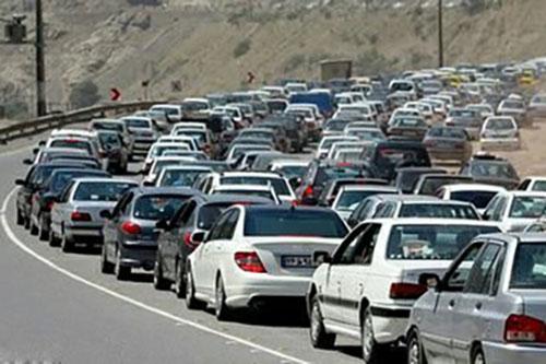 ترافیک سنگین در محور سمنان مازندران و وعدههای بیعمل!