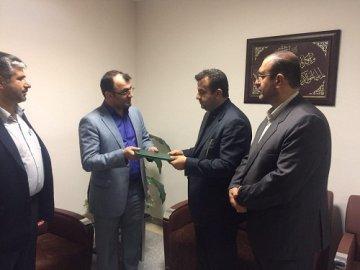 معرفی بخشدار چهاردانگه در فرمانداری ساری