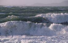 خودداری از همه فعالیتهای دریایی بههنگام مواج بودن دریا