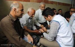 گزارش تصویری از حضور کاروان سلامت «همت عالی مازندران» در چهاردانگه