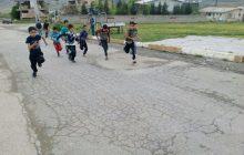 مسابقه دو ومیدانی در رده نوجوانان در شهر کیاسر برگزار شد