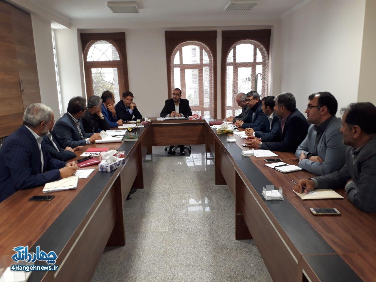برگزاری جلسه مشکلات آب شرب روستاهای بخش چهاردانگه و شهر کیاسر
