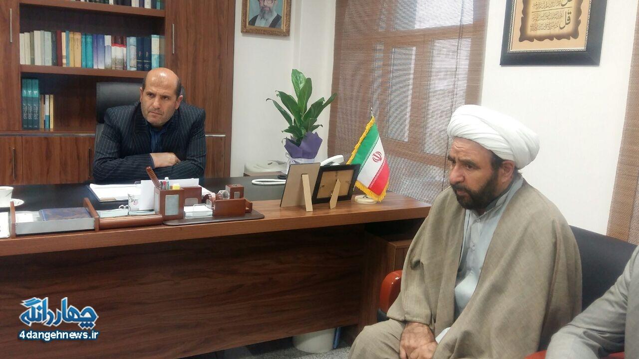 دیدار رییس اداره آموزش و پرورش چهاردانگه با فرماندار جدید شهرستان ساری+ تصاویر