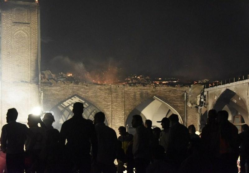 مردم ساری: مسجد جامع را بازسازی میکنیم