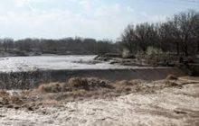 وقوع سیل شدید در منطقه چهاردانگه ساری/حجم سیل در حال افزایش است