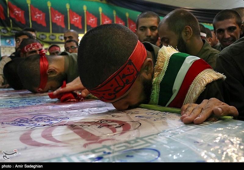 پیکر مطهر دو شهید گمنام دفاع مقدس در مازندران تشییع شد