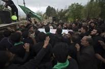 دومین اجتماع بزرگ تاسوعای حسینی در امامزاده شمسالدین روستای کوات همراه با تشییع پیکر شهید گمنام