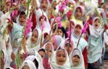 روز شکوفههای کلاس اولی در منطقه چهاردانگه
