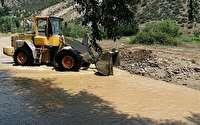 باز شدن جاده های ارتباطی روستاهای در چهاردانگه
