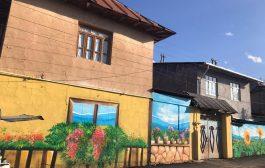 نقاشی دیواری های شهر کیاسر
