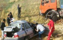 فوری: تصادف خونین در جاده کیاسر