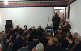 تصاویر: برگزاری مراسم عزاداری شهادت حضرت فاطمه (س)در دفتر امام جمعه