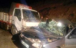 تصاویر اختصاصی از تصادف خونین جاده کیاسر