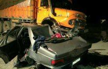 تصادف خونین در جاده کیاسر 5 کشته بر جای گذاشت