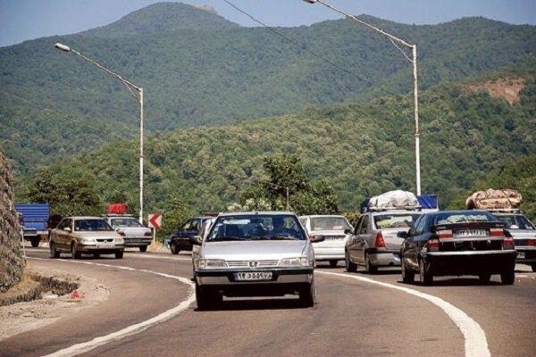 ترافیک سنگین در محورهای مازندران/ جاده کیاسر و وازک مسدود است