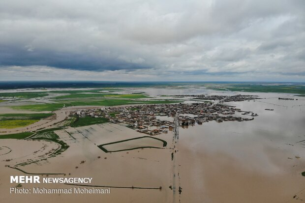 نیروهای بسیجی برای کمک به سیلزدگان وارد عمل شدند