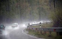 جادههای مازندران بارانی، برفی ولغزنده / محور کیاسر باز است