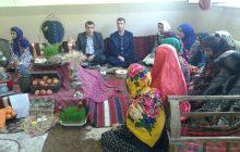 گزارش تصویری از جشنواره سفره هفت سین دبیرستان حضرت فاطمه(س) خالخیل