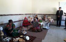 گزارش تصویری از جشنواره سفره هفت سین دبیرستان حضرت خدیجه(س) خالخیل