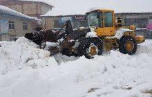 فیلم: وضعیت بحرانی بارش برف در محور ساری-کیاسر و شهر کیاسر