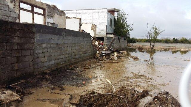 خسارت 13 میلیارد تومانی سیل به شهرستان نور
