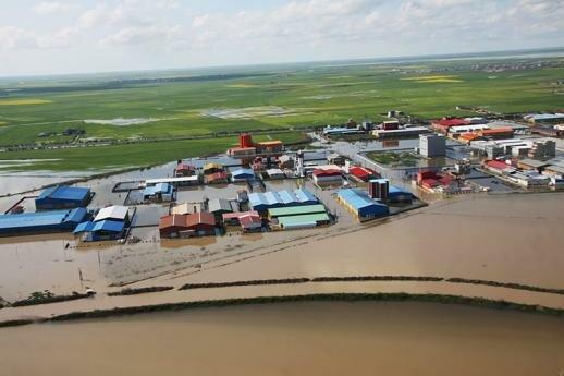 پرداخت ۱۲ میلیارد تومان خسارت اولیه به سیلزدگان مازندران