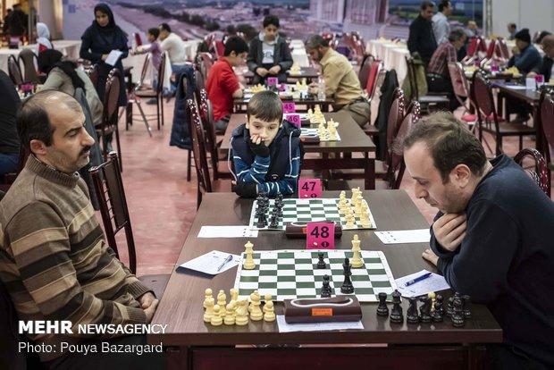 پیشتازی شطرنج بازان ایران و روس در مسابقات بین المللی «قائم کاپ»