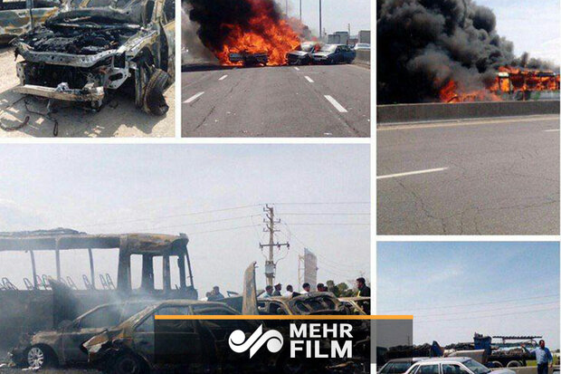 کاهش ۱۵ درصدی تلفات تصادفات جاده ای ایام نوروز در مازندران