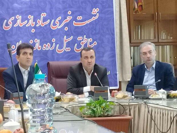 خسارت ۸۲ میلیارد ریالی سیل به برق مازندران