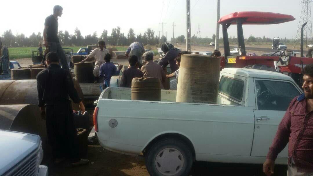 تامین سوخت کشاورزی در بهشهر پشت سد ثبت سامانه و جواز چاه