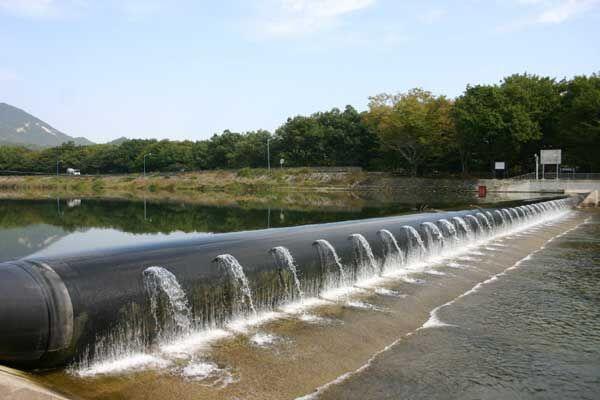 چهار سد لاستیکی با پیشرفت ۵۰ درصد در مازندران در حال ساخت است