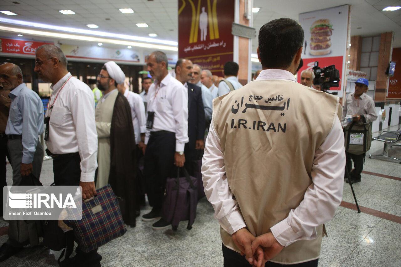 برنامه پرواز زائران مازندران به حج تمتع ۹۸ بسته شد