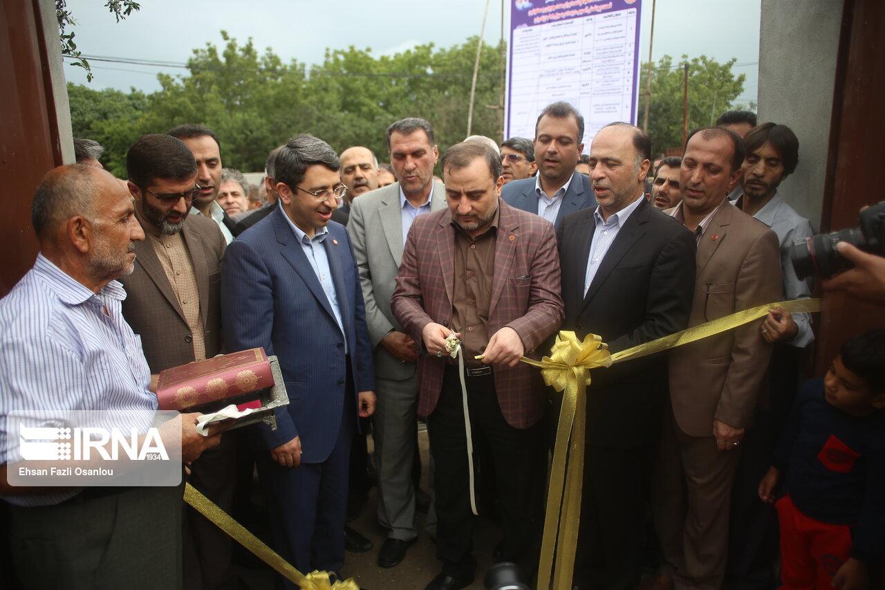 نخستین واحد مسکونی برای سیلزدگان مددجوی مازندران تحویل شد