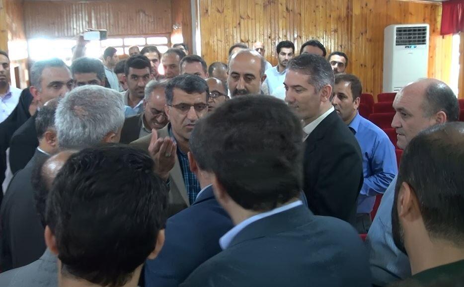 نشست معارفه فرماندار جدید عباس آباد لغو شد