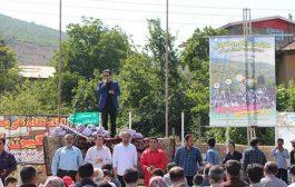 گزارش تصویری همایش بزرگ پیاده روی خانوادگی در شهر کیاسر