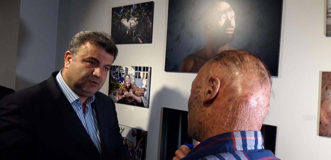 نمایشگاه عکس خبرنگاران مازندرانی مشکلگشایی کرد