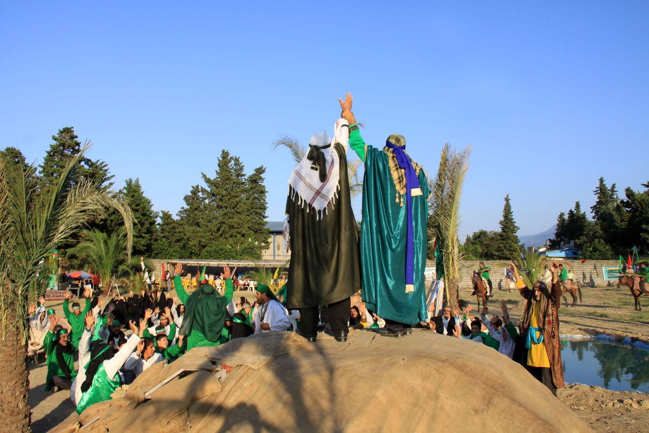 واقعه بزرگ غدیرخم در نوشهر بازسازی شد