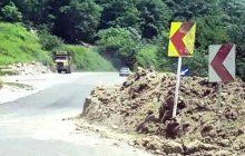 جاده مرگ در چهاردانگه ؛ مسیر سفری پرمخاطره