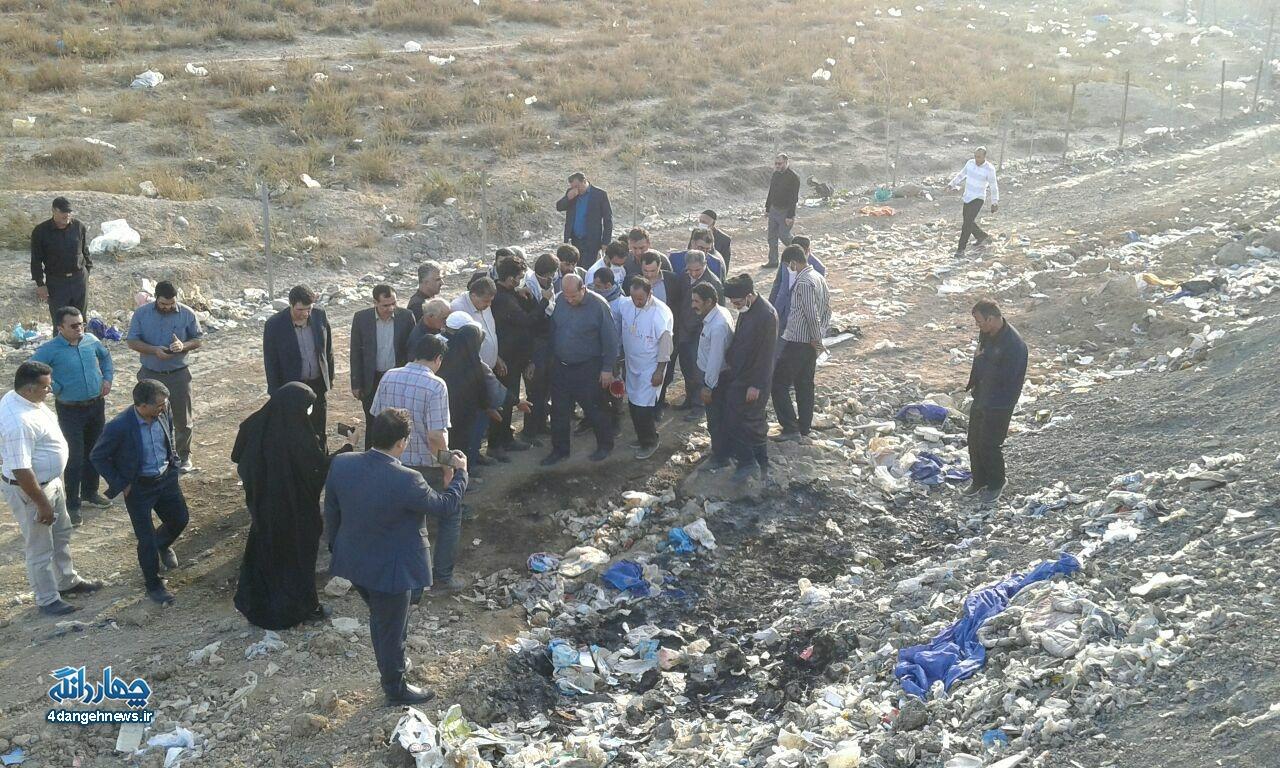 معضل زندگی 14 ساله مردم چهاردانگه با بوی بد زباله