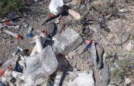 فیلم: وجود زباله های عفونی بیمارستانی در محل دپوی زباله در چهاردانگه!