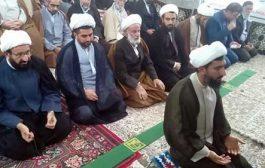 گزارش تصویری از نخستین نماز جمعه بخش به امامت حجت الاسلام جلایی صلاحی