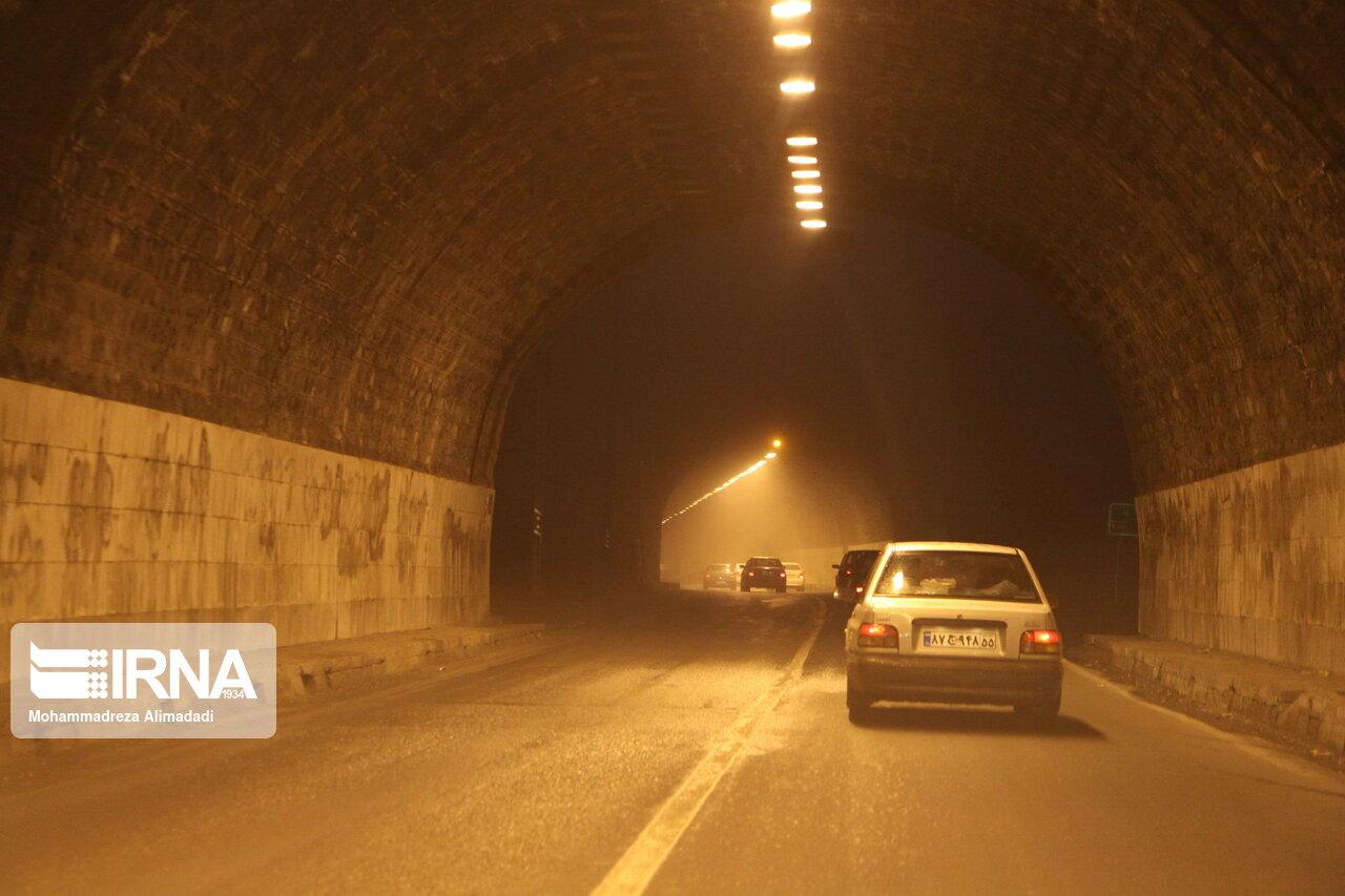 جاده هراز شبهای ۲۳ و ۲۴ آذر مسدود میشود