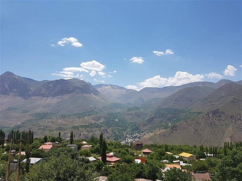 زمستان مازندران در شهر چشمههای آبگرم